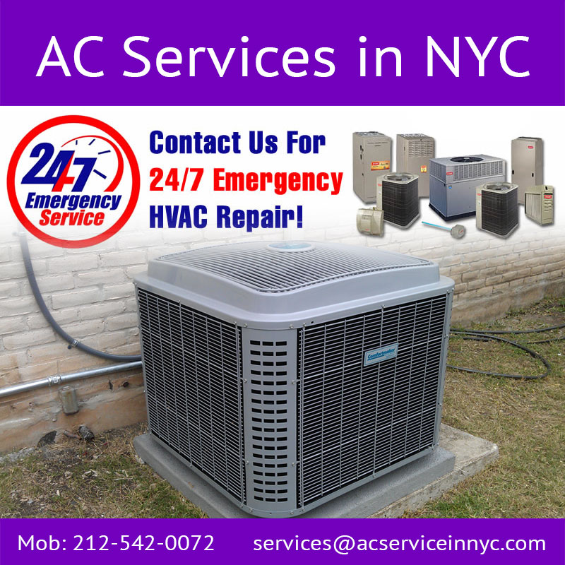 Air Conditioning Service Bronx New York Call 212 542